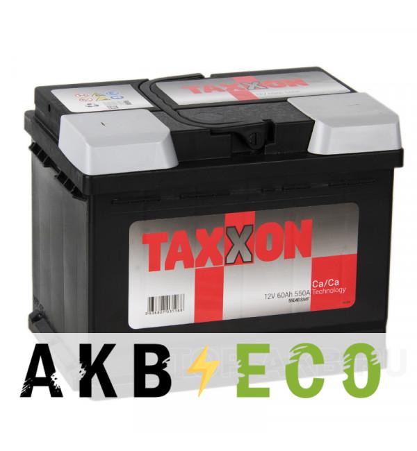 Автомобильный аккумулятор Taxxon 60L 550A (242x175x190) 112555, 55048
