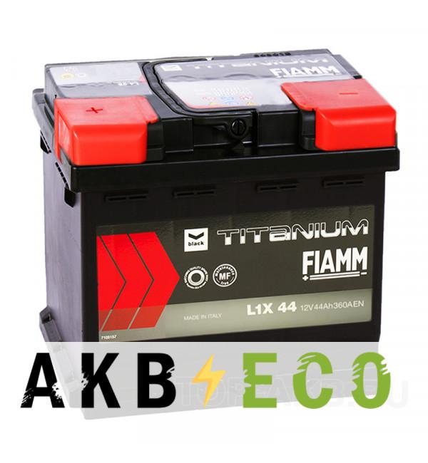 Автомобильный аккумулятор Fiamm Black Titanium 44L 360A 207x175x190 L1X44