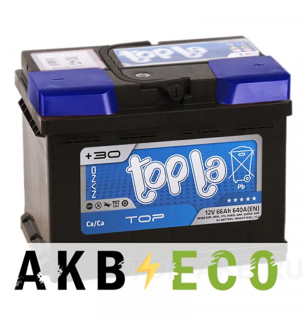Автомобильный аккумулятор Topla Top 66R (640A 242x175x190) 118666 56649