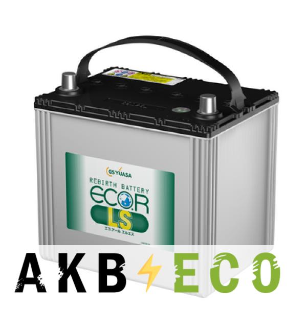 Автомобильный аккумулятор GS Yuasa ELS-80D23L (70R 660A 230x171x221) ECO.R LS