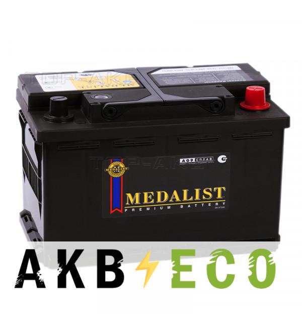 Автомобильный аккумулятор Medalist 57539 (75R 650A 279x175x175)