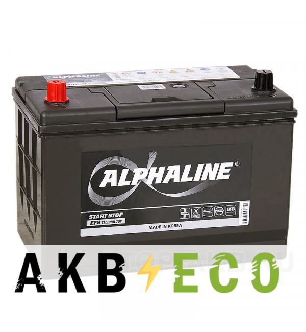 Автомобильный аккумулятор Alphaline EFB 115D31R 80L (800A 306x173x223) T110 Start-Stop