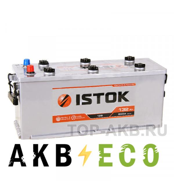 Грузовой аккумулятор ISTOK 132 рус 880A (513x189x223)