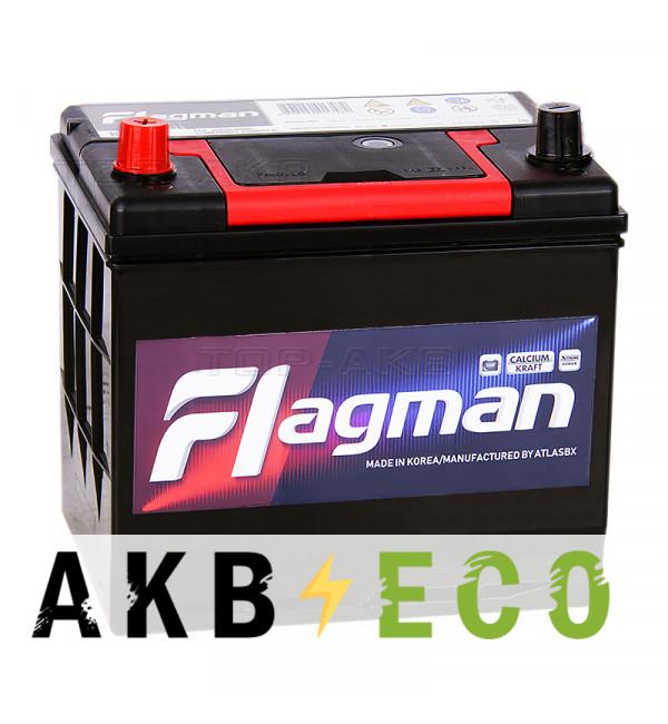 Автомобильный аккумулятор Flagman 85D23R 70L 620A 232x172x220