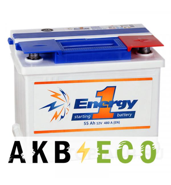Автомобильный аккумулятор Energy ONE 55R 450А 242x175x190