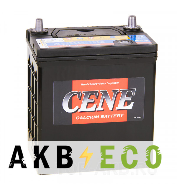 Автомобильный аккумулятор Cene 46B19R (44L 390A 187x127x227)