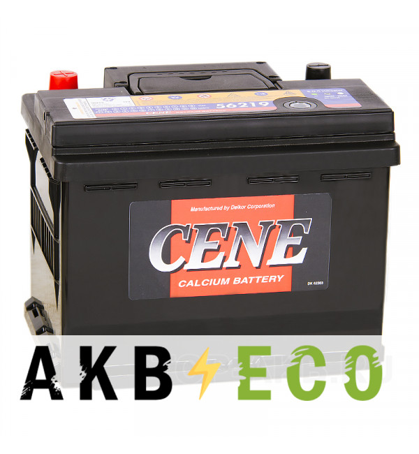 Автомобильный аккумулятор Cene 56219 (62R 580A 242x175x190)