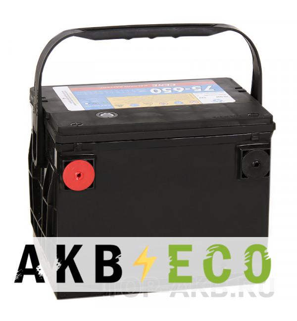 Автомобильный аккумулятор Cene 75-650 бок. кл. (75L 650A 237x178x184)