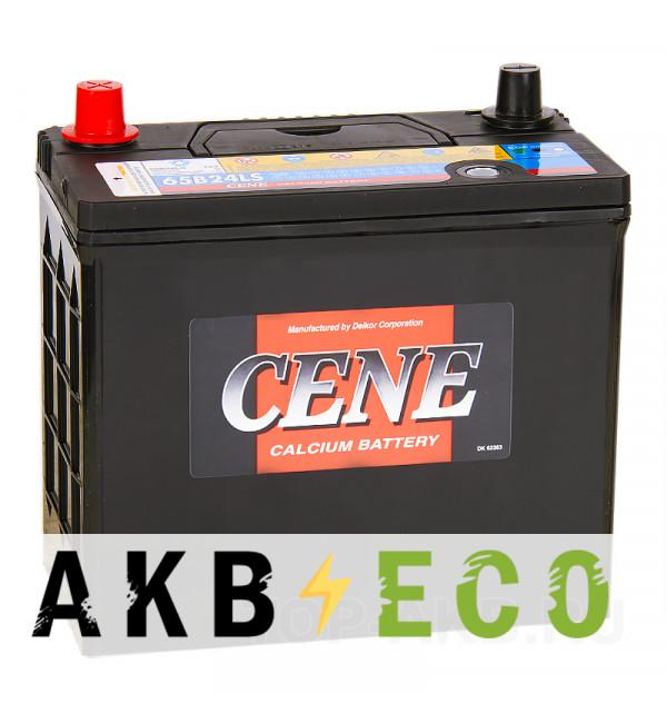 Автомобильный аккумулятор Cene 65B24LS (55R 490A 238x128x227)