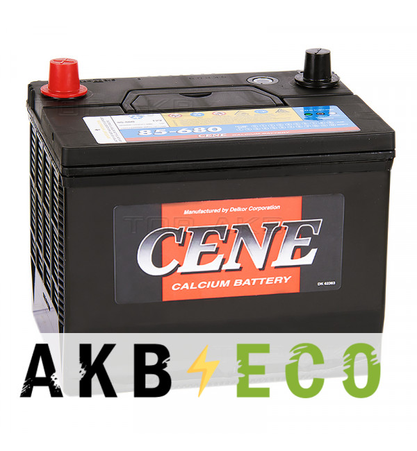 Автомобильный аккумулятор Cene 85-680 (70R 680A 230x168x200)