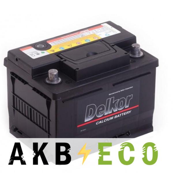 Автомобильный аккумулятор Delkor 56178 (61L 600A 242x175x175)