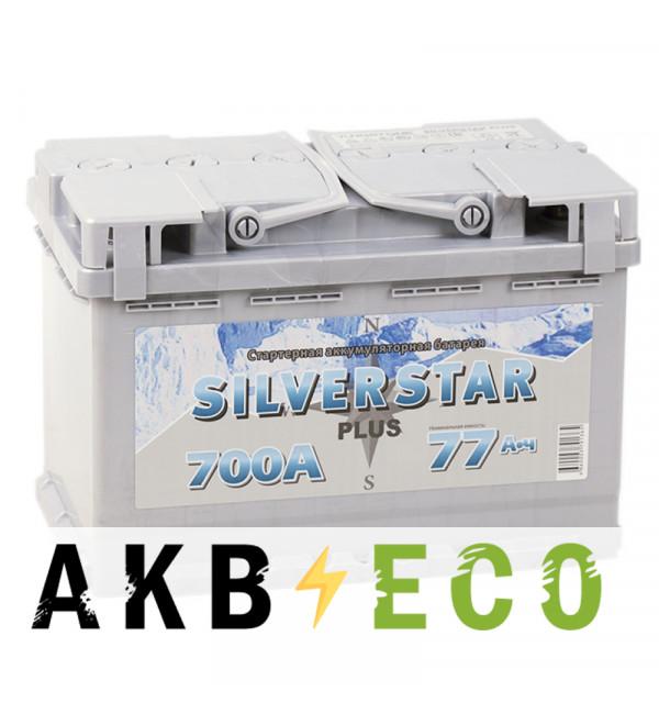 Автомобильный аккумулятор Silverstar Plus 77L 700A 276x175x190