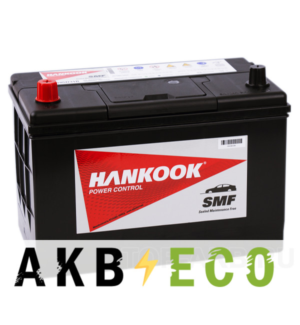 Автомобильный аккумулятор Hankook 105D31R (90L 750A 305х172х225)