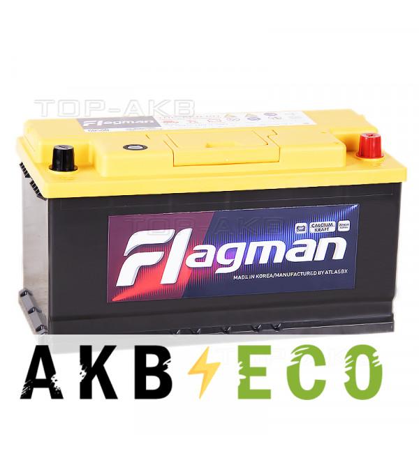 Автомобильный аккумулятор Flagman 105R 950A (353x175x190) 60500 L5