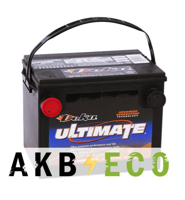 Автомобильный аккумулятор Deka 775MF 12V 75Ah (690A 230x175x186) боковые клеммы