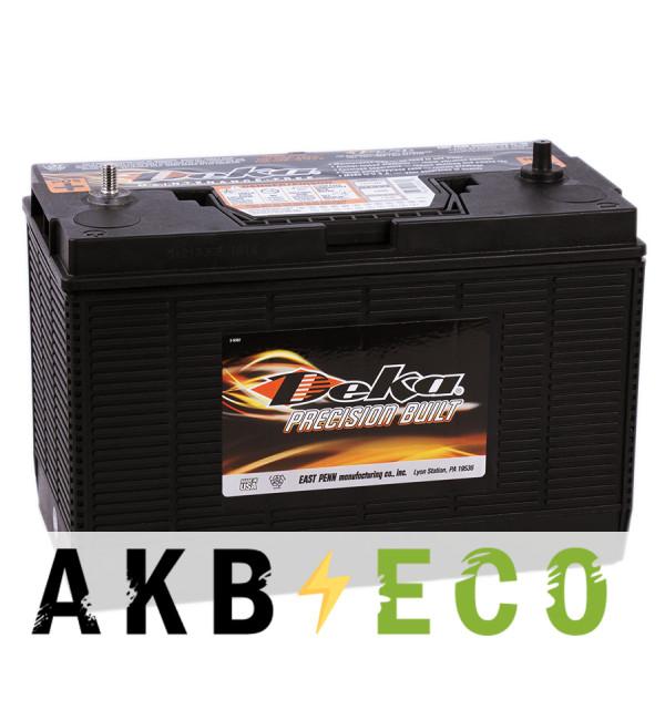 Автомобильный аккумулятор Deka 140 (1231MF 1000A 330x171x241) клеммы под гайку