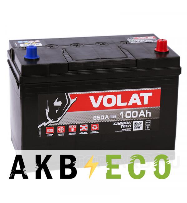 Автомобильный аккумулятор Volat Asia 100R (850A 306x173x225)