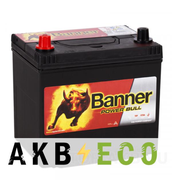 Автомобильный аккумулятор BANNER Power Bull (60 69) 60L 480A 232x173x225