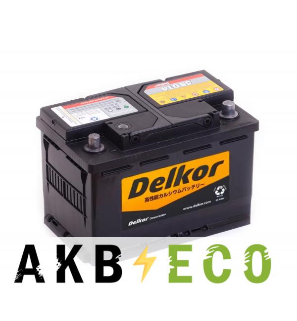 Автомобильный аккумулятор Delkor 58014 (80R 780A 278x175x190)