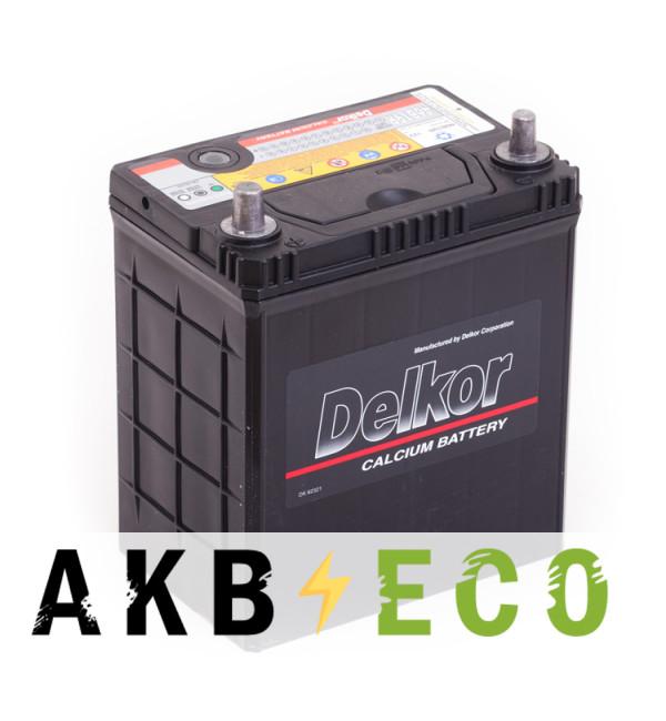 Автомобильный аккумулятор Delkor 46B19R (40L 370A 187x127x227)
