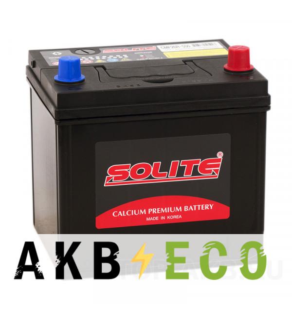 Автомобильный аккумулятор Solite CMF 26R-550 (60R 550А 206x172x205)