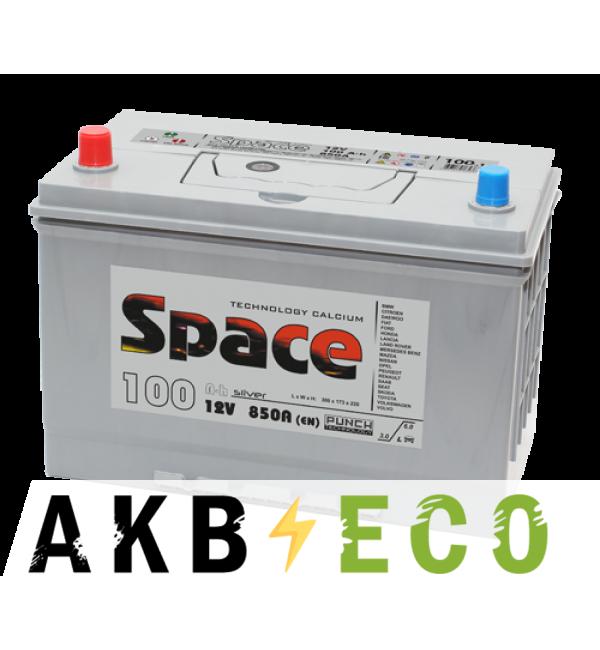 Автомобильный аккумулятор Space Asia 135D31R (110L 870A 306x173x225)