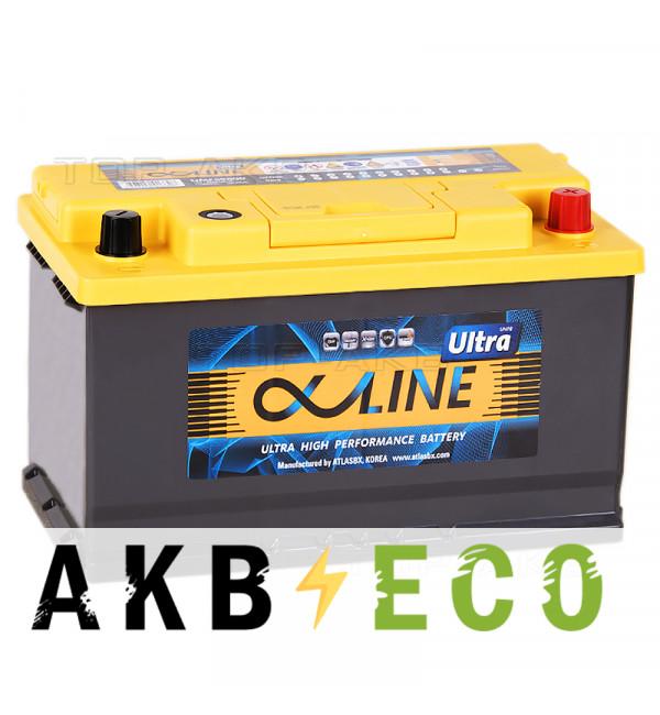 Автомобильный аккумулятор Alphaline Ultra 90R 900A (315x175x190) 59000