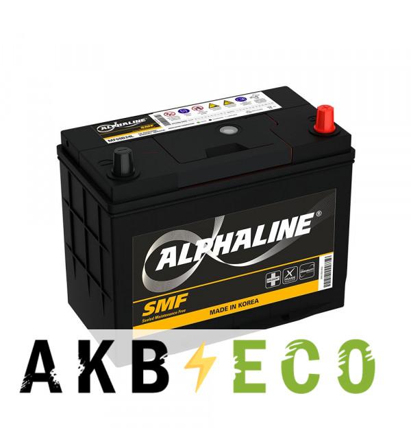 Автомобильный аккумулятор Alphaline Standard 65B24L 12V 52Ah 480A (232x127x220) 52 обр.