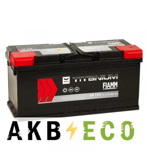 Автомобильный аккумулятор Fiamm Black Titanium 110R 950A 393x175x190 L6 110