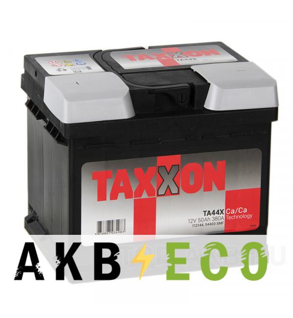 Автомобильный аккумулятор Taxxon 50L низкий 380A (207x175x175) 112144, 54403