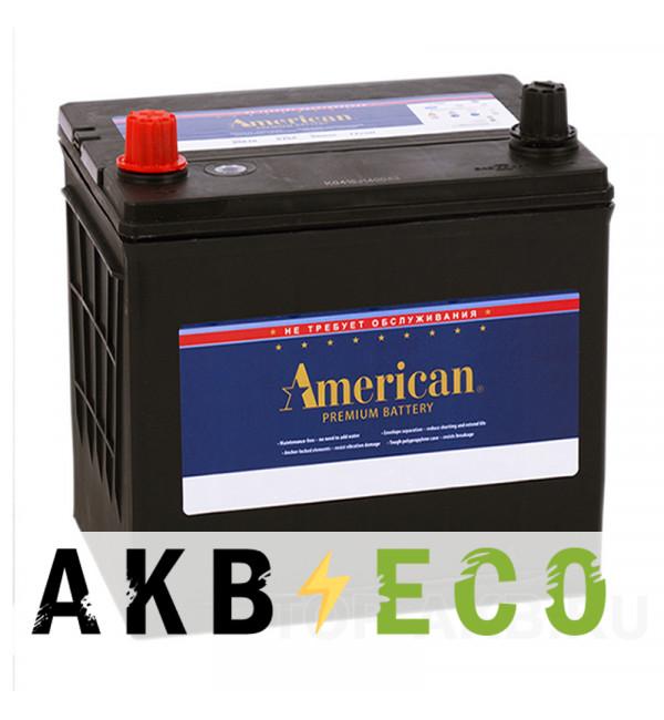 Автомобильный аккумулятор American 26550 (60L 550A 207x175x200)
