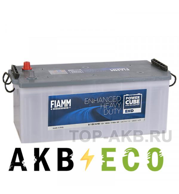 Автомобильный аккумулятор Fiamm Power Cube 180 евро 1100A (513x223x223) Heavy Duty B180EHD