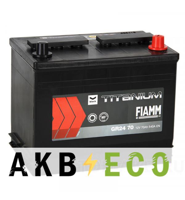 Автомобильный аккумулятор Fiamm Asia 70R 540A 261x173x225