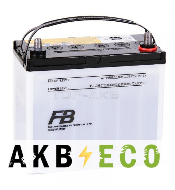 Автомобильный аккумулятор FB7000 60B24L (48R 470A 236x126x227)