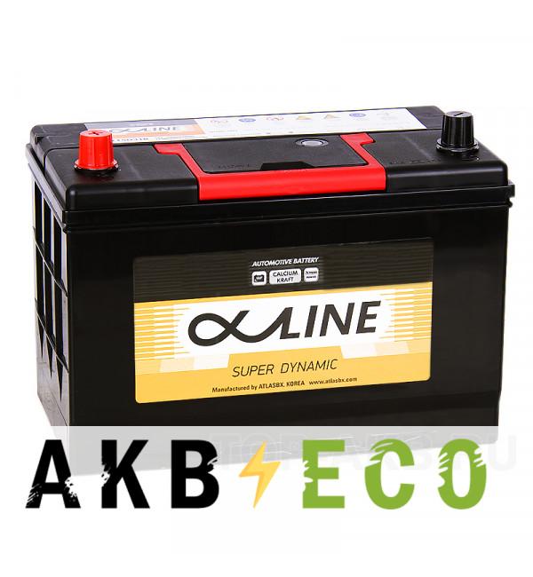 Автомобильный аккумулятор Alphaline SD 115D31R 100L 850A 302x172x220