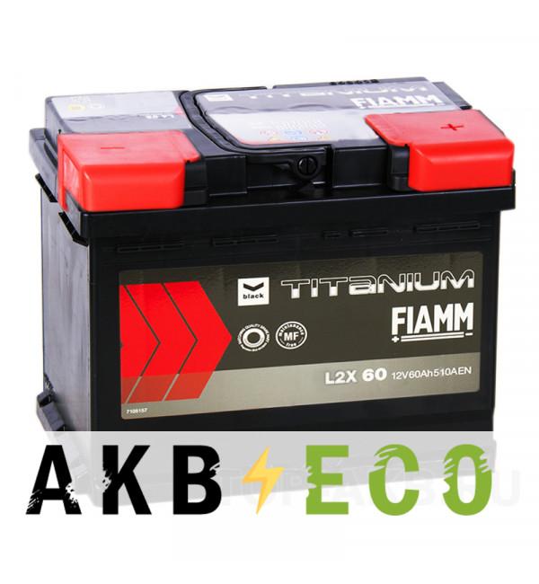 Автомобильный аккумулятор Fiamm Black Titanium 60R 510A 242x175x190 L2 60