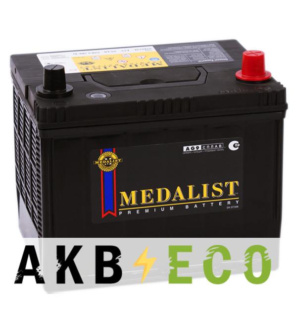 Автомобильный аккумулятор Medalist 55D23L (55R 550A 230x173x208)