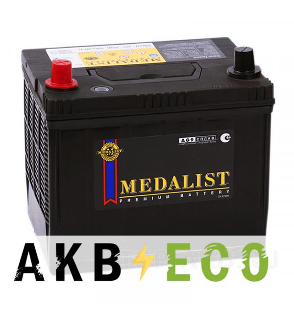 Автомобильный аккумулятор Medalist 75D23R (65L 580A 227x173x225)