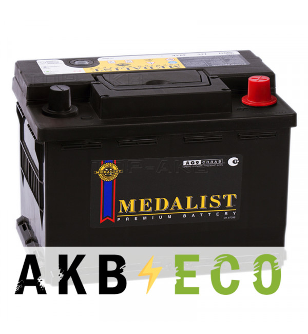 Автомобильный аккумулятор Medalist 56077 (60R 600A 242x175x175)