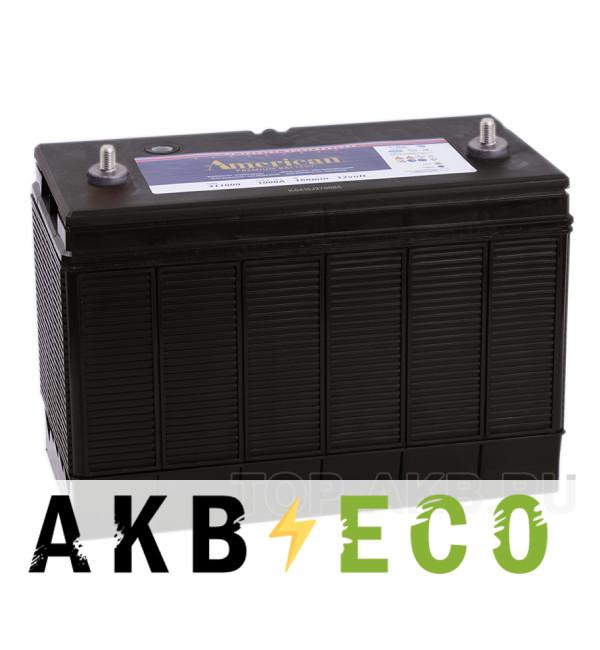 Автомобильный аккумулятор American 311000Т (140 uni 1000A 330x173x240)