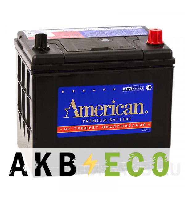 Автомобильный аккумулятор American 85D23L (70R 650A 230x173x225)