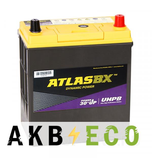 Автомобильный аккумулятор Atlas UHPB UMF 55B19L (45R 390A 187x127x225)