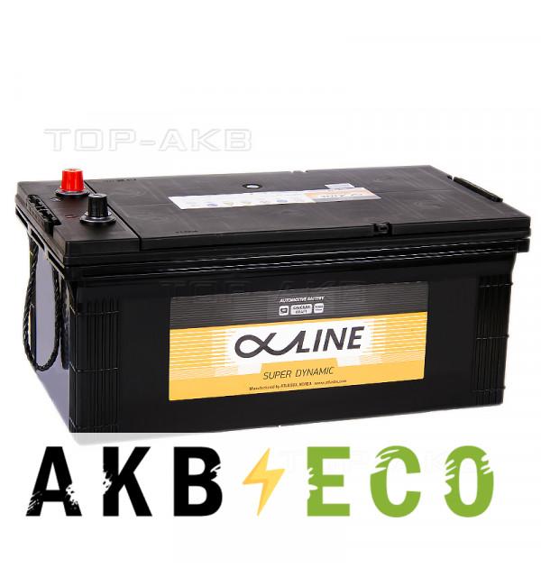 Автомобильный аккумулятор Alphaline SD 245H52R 220 Ач обратная пол.(евро) 1400A 518x276x242