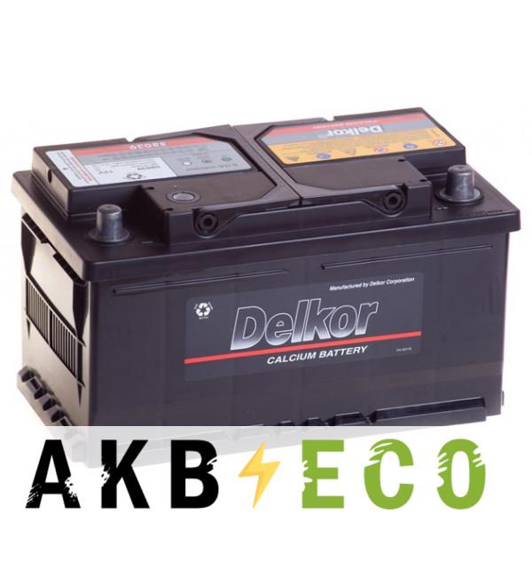 Автомобильный аккумулятор Delkor 58039 (80R 730A 315x175x175)