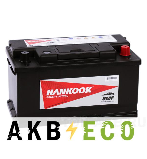 Автомобильный аккумулятор Hankook 60038 (100R 850A 352х174х188)