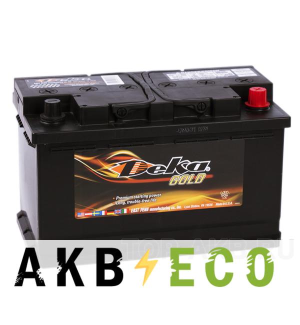 Автомобильный аккумулятор Deka 85R (694RMF 765A 315x175x190)