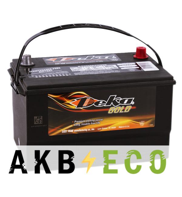 Автомобильный аккумулятор Deka 665MF 12V 100Ah (875A 306x192x192) BXT 65-850 прямая пол.