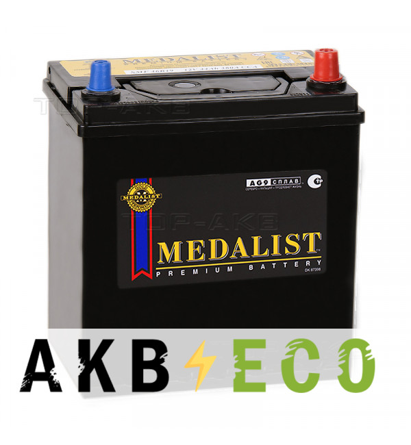 Автомобильный аккумулятор Medalist 46B19L (44R 380A 185x127x225)