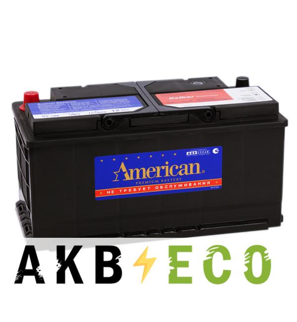 Автомобильный аккумулятор American 93700 (90R 700A 353x175x175)