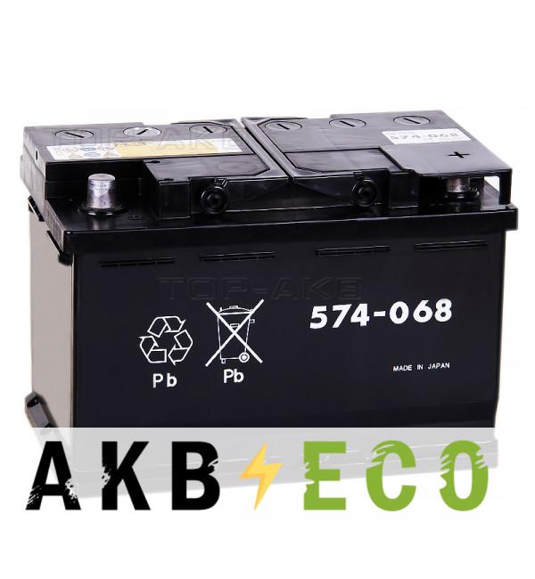 Автомобильный аккумулятор GS Yuasa EU 574-068 (L3) - 74 Ач 680A обратная пол. (278x175x190)